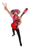 Mexican guitar player Stock Image