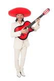 Mexican guitar player Stock Photos