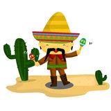 Mexican Guy Royalty Free Stock Images