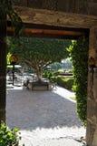 Mexican Hacienda Stock Photo
