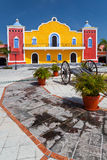 Mexican hacienda in the Mayan Riviera. Yucatan Royalty Free Stock Image