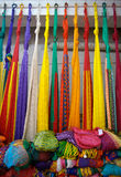 Mexican Hammocks Royalty Free Stock Photos
