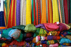Mexican Hammocks. For sale in market near Chichen Itza, Mexico Royalty Free Stock Images