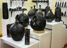 Mexican handcrafts store Royalty Free Stock Photography