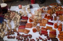 Mexican handicraft. In Oaxaca, Mexico stock photos
