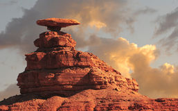 Mexican Hat. Nice striking Image of the Mexican Hat Monument Royalty Free Stock Photography