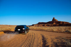 Mexican Hat by car, amazing journey Stock Image
