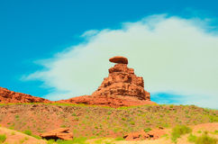 Mexican hat on a hot summer day Royalty Free Stock Photography