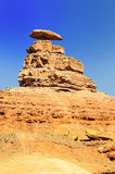The Mexican Hat Monument Stock Photography