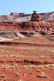 Mexican Hat of Monument Valley Royalty Free Stock Photo