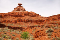Mexican Hat mountain Royalty Free Stock Images