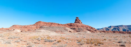 Mexican Hat Mountain Stock Photo