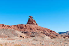 Mexican Hat Mountain Stock Photos