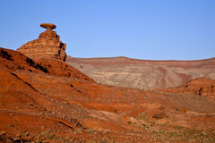 Mexican Hat Rock Stock Image