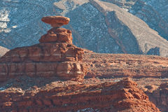 Mexican Hat rock formation Stock Photos