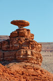 Mexican Hat rock formation Royalty Free Stock Images