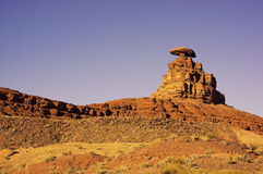 Mexican Hat Rock Formation in Utah Stock Photos
