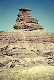 The Mexican Hat rock formation Stock Images