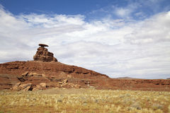 Mexican Hat Rock Landscape Royalty Free Stock Photos