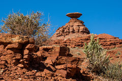 Mexican Hat rocks Royalty Free Stock Images