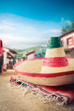 Mexican hat Royalty Free Stock Images
