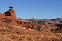 Mexican Hat Utah Royalty Free Stock Photo