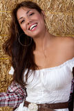Mexican Hay Girl Royalty Free Stock Photos