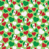 Mexican heart pattern Royalty Free Stock Photography