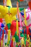 Mexican Holiday Pinatas Royalty Free Stock Photo