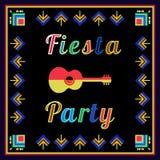 Mexican holiday  postercinco de mayo Royalty Free Stock Photo