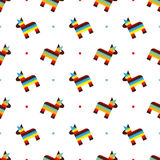 Mexican horse pinata pattern Royalty Free Stock Photography