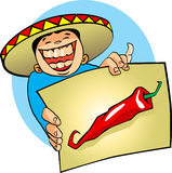 Mexican hot chili Stock Photography