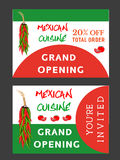 Mexican hot food Stock Photography