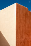 Mexican house painted wall and roof detail Royalty Free Stock Photography