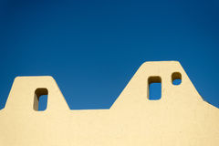 Mexican house roof Stock Photo