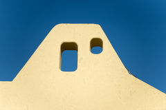 Mexican house roof Stock Photography