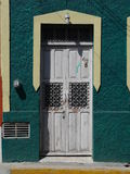 Mexican houses front door entrance Royalty Free Stock Photos