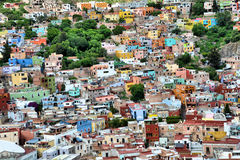 Mexican houses Stock Photo