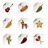 Mexican icons Stock Photography
