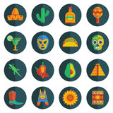 Mexican icons Stock Images