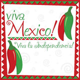 Mexican Independence Day! Royalty Free Stock Photo