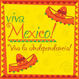 Mexican Independence Day! Royalty Free Stock Images