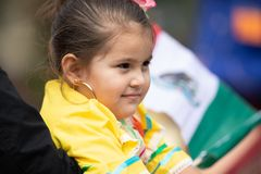 Mexican Independence Parade royalty free stock photos