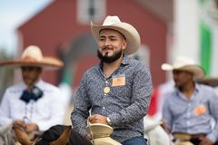 Mexican Independence Parade stock image