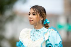 Mexican Independence Parade royalty free stock photo