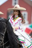 Mexican Independence Parade stock images