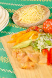 Mexican  ingredients Royalty Free Stock Photography
