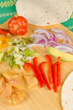 Mexican ingredients still life Royalty Free Stock Photo