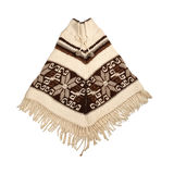 Mexican knitted poncho Royalty Free Stock Image