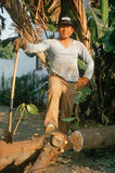 A Mexican laborer Royalty Free Stock Photo